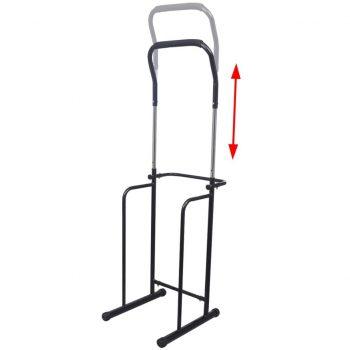 Prilagodljiva posatja za dvigovanje in spuščanje 175-224 cm črna