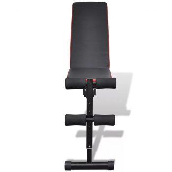 Prilagodljiva vadbena klop več-pozicijska