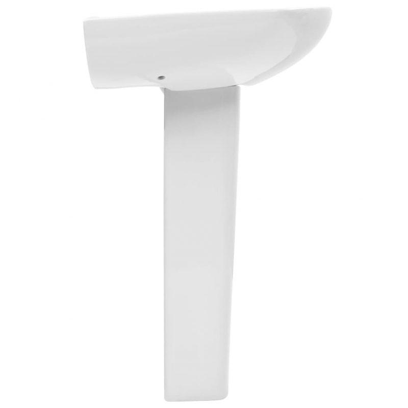Prostostoječi umivalnik in podstavek keramika 650x520x200 mm