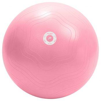 Pure2Improve Žoga za vadbo 65 cm roza