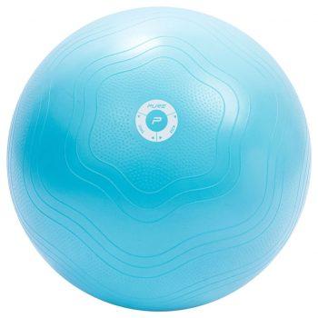 Pure2Improve Žoga za vadbo 65 cm svetlo modra