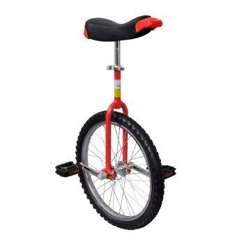 Rdeč prilagodljiv monocikel 20 Inch