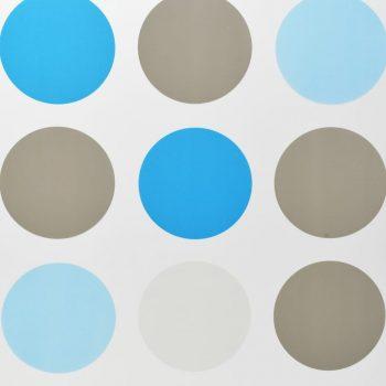 Rolo senčilo za tuš 160x240 cm vzorec krogov