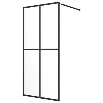 Steklena pregrada za tuš kaljeno steklo 80x195 cm