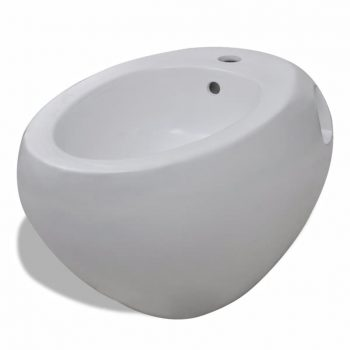 Stenski / Viseči Bide Bela Keramika