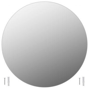 Stensko ogledalo 70 cm okroglo steklo