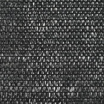 Teniška zaščitna mreža HDPE 1x25 m črna