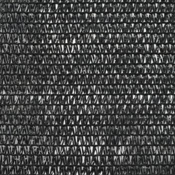 Teniška zaščitna mreža HDPE 1x50 m črna