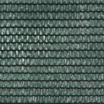 Teniška zaščitna mreža HDPE 2x25 m zelena