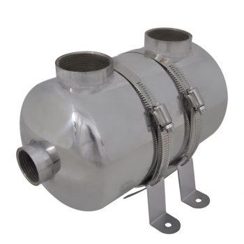Toplotni izmenjevalec za bazen 292 x 134 mm 28 kW