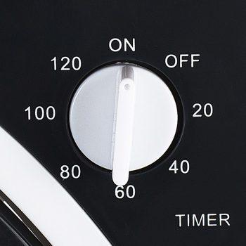Tristar Ventilator v ohišju VE-5996 50 W črn in bel