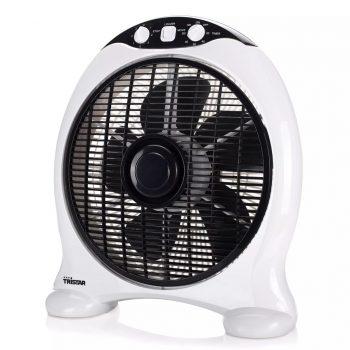 Tristar Ventilator v ohišju VE-5997 50 W črn in bel