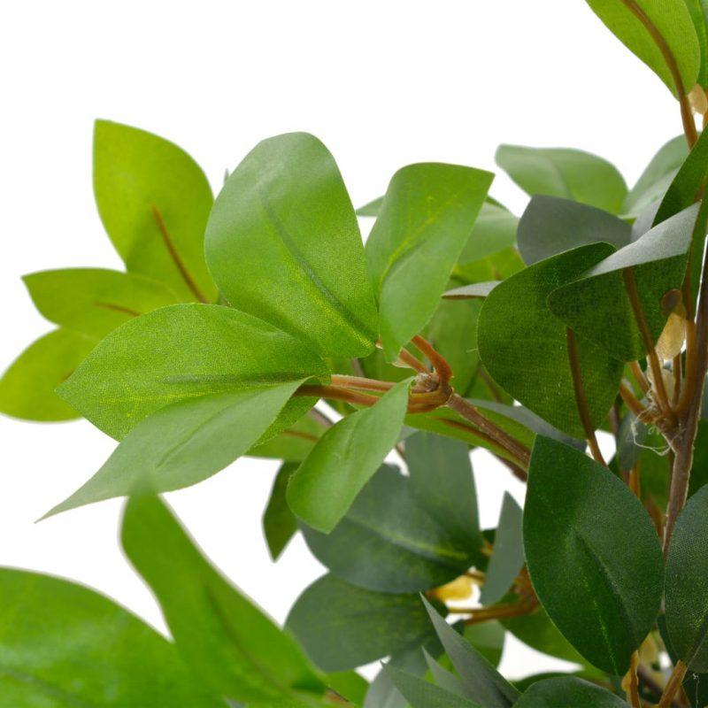 Umetna rastlina lovorovo drevo z loncem zelena 120 cm