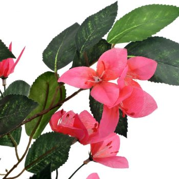 Umetna rastlina rododendron z loncem roza 165 cm