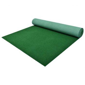 Umetna trava s čepi PP 10x1 m zelena