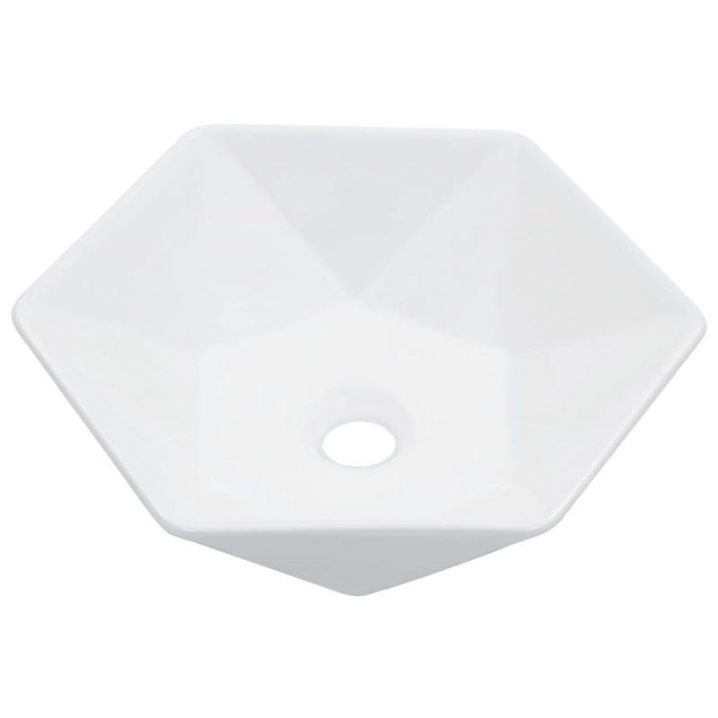 5x12 cm keramičen bel
