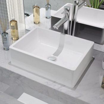 Umivalnik Bela Keramika 41x30x12 cm