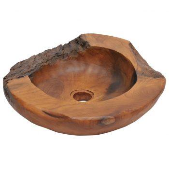 Umivalnik iz Masivne tikovine 45 cm