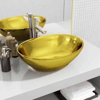 Umivalnik keramičen 40x33x13