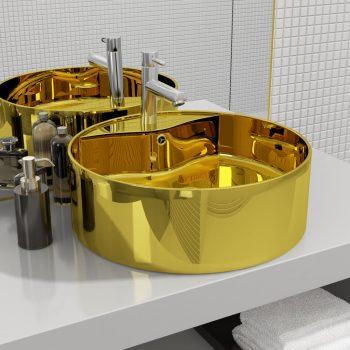 Umivalnik z odprtino za odtekanje 46