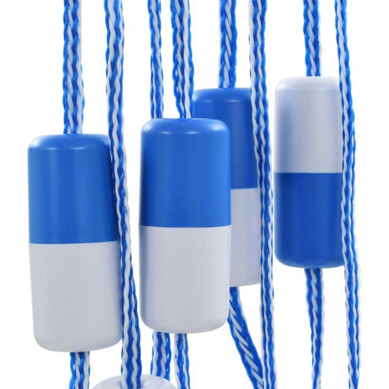 Varnostna razdelilna vrv za bazen 6 m plastika