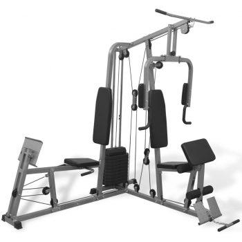 Večfunkcijska fitnes naprava za domačo telovadnico