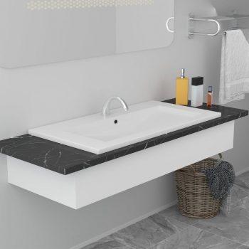 Vgradni umivalnik 91x39