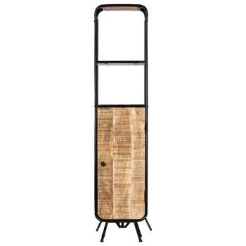 Visoka omarica 40x30x180 cm trden robusten mangov les