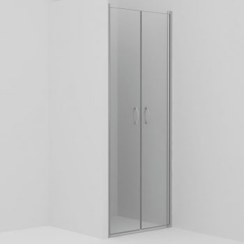 Vrata za tuš prozorna ESG 80x185 cm
