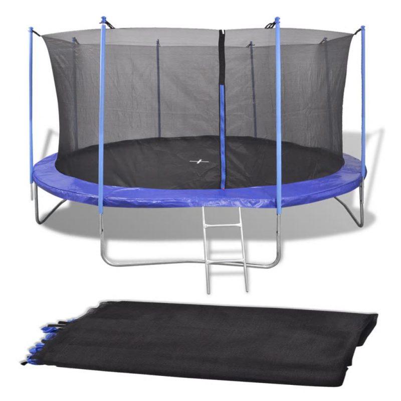 57 m okrogel trampolin