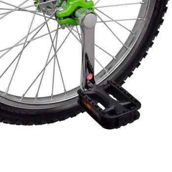 Zelen prilagodljiv monocikel 16 Inch