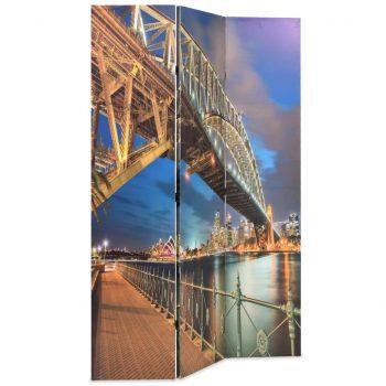 Zložljiv paravan 120x170 cm Sydneyski pristaniški most