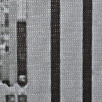 Zložljiv paravan 160x170 cm New York podnevi črn in bel