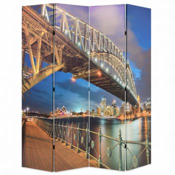 Zložljiv paravan 160x170 cm Sydneyski pristaniški most