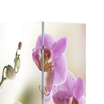 Zložljiv paravan 160x170 cm cvetje