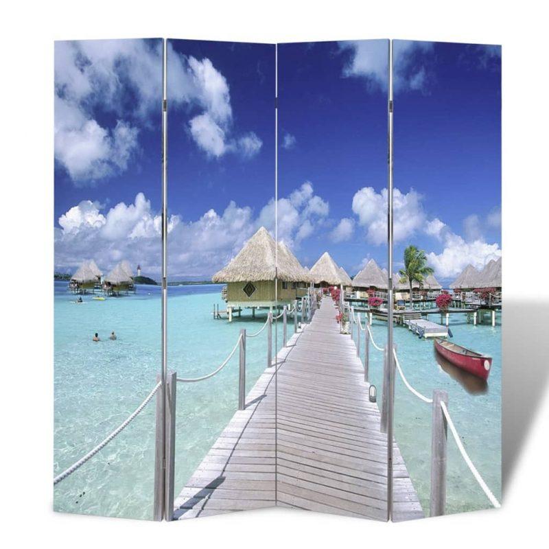 Zložljiv paravan 160x170 cm plaža