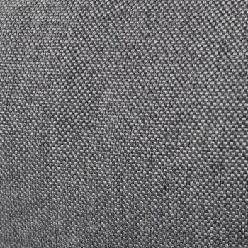 Zložljiv talni ležalnik sivo blago