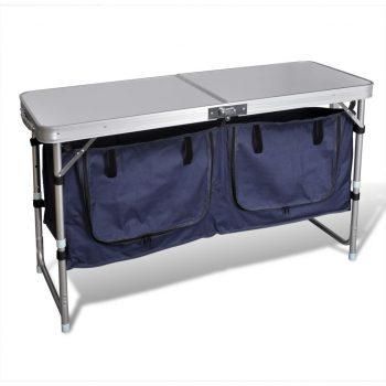 Zložljiva omarica za kampiranje z aluinijastim okvirjem