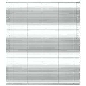 Žaluzije za Okna Aluminij 100x130 cm Srebrne Barve