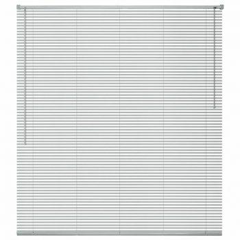 Žaluzije za Okna Aluminij 120x130 cm Srebrne Barve