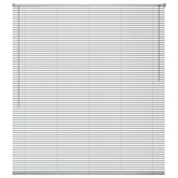 Žaluzije za Okna Aluminij 140x160 cm Srebrne Barve