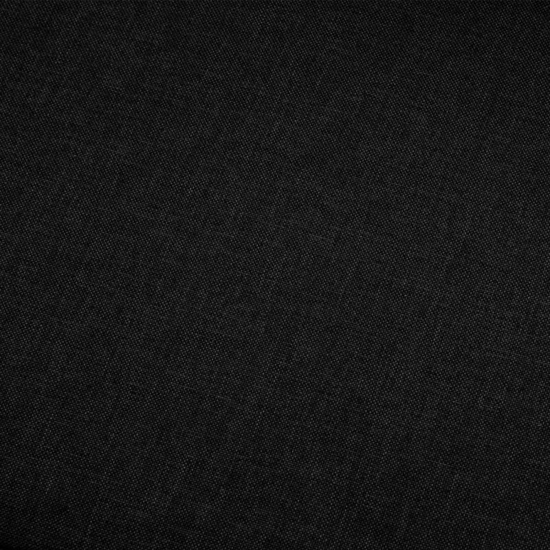 Kavč dvosed črno blago