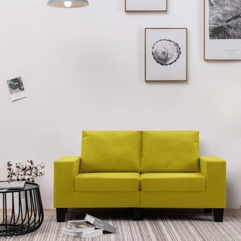 Kavč dvosed rumeno blago