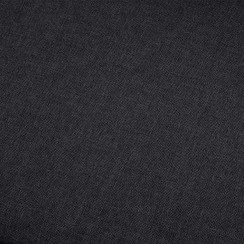 Kavč dvosed temno sivo blago