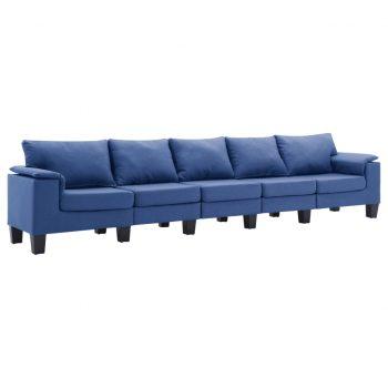 Kavč petsed modro blago