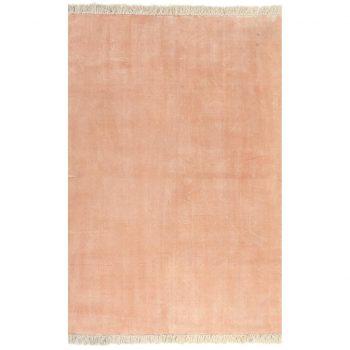 Kilim preproga iz bombaža 160x230 cm roza