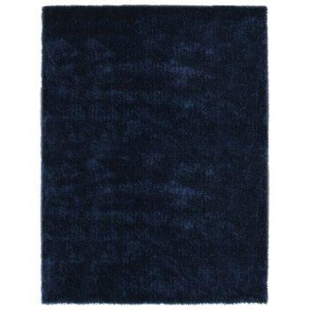 Košata preproga 120x160 cm modra