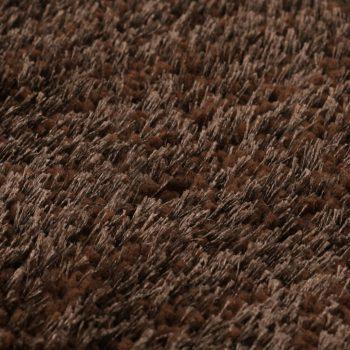 Košata preproga 120x160 cm rjava