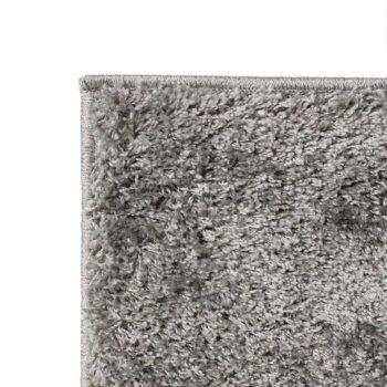 Košata preproga 120x170 cm sive barve