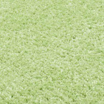 Košata preproga 160 cm zelena